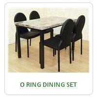 O RING DINING SET
